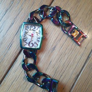 Betsey Johnson easy to read WATCH